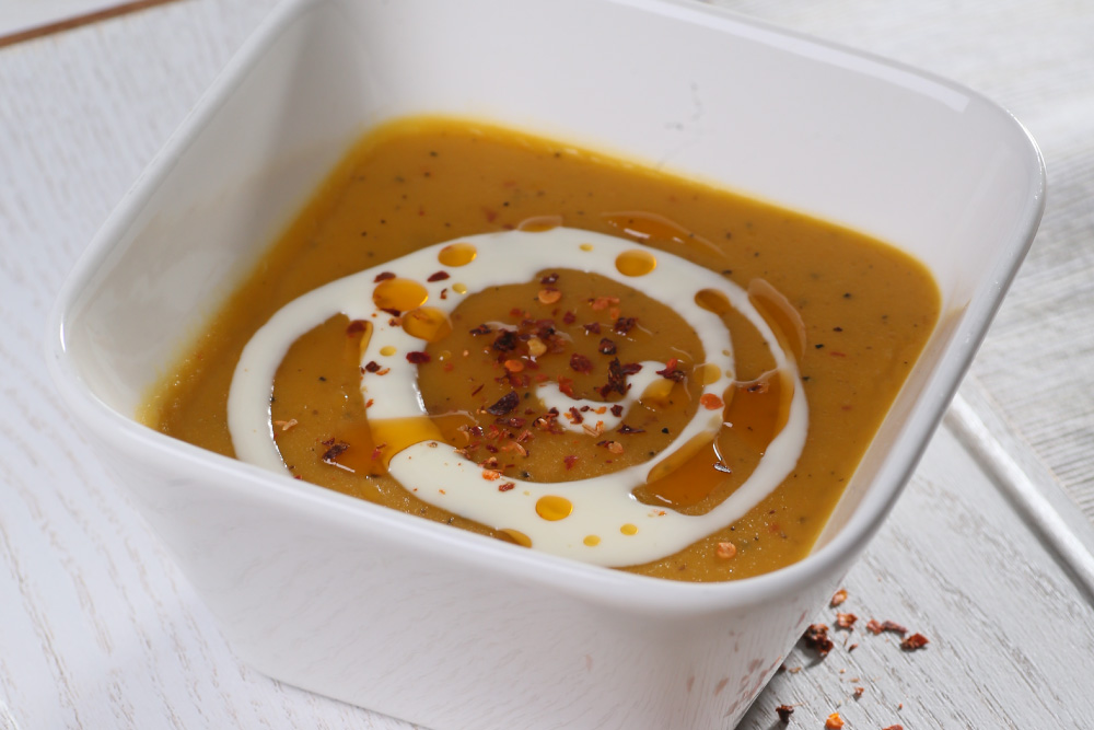 Chilli Roasted Pumpkin Soup