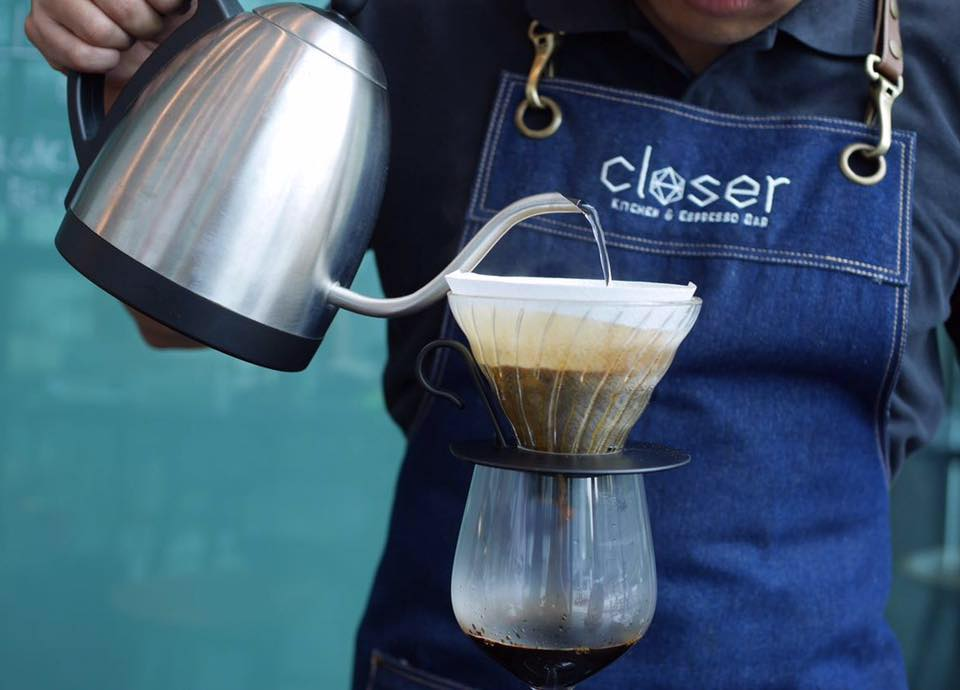 Hand-Brewed Pour Over