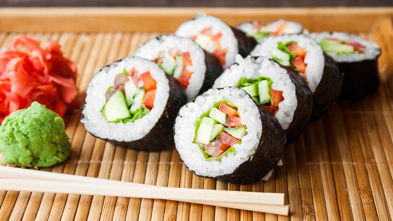 Alaskan Sushi Roll