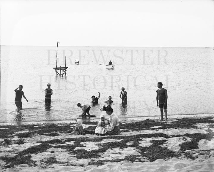 13. 1970.10.147  Beach Bathers c.1900 – photographer unknown