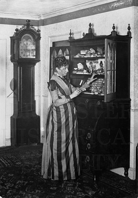26. 1970.10.228 Unknown Lady and House Interior c.1900 – photographer unknown