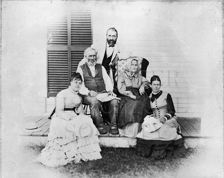 35. 1970.10.268 – The Crosby Family c.1900 – photographer unknown
