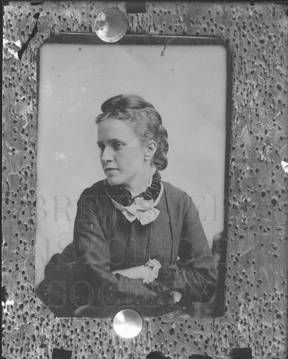 36. 1970.10.415 Copy of Mrs. Bird from Tintype c.1900 – photographer Cornelius Chenery