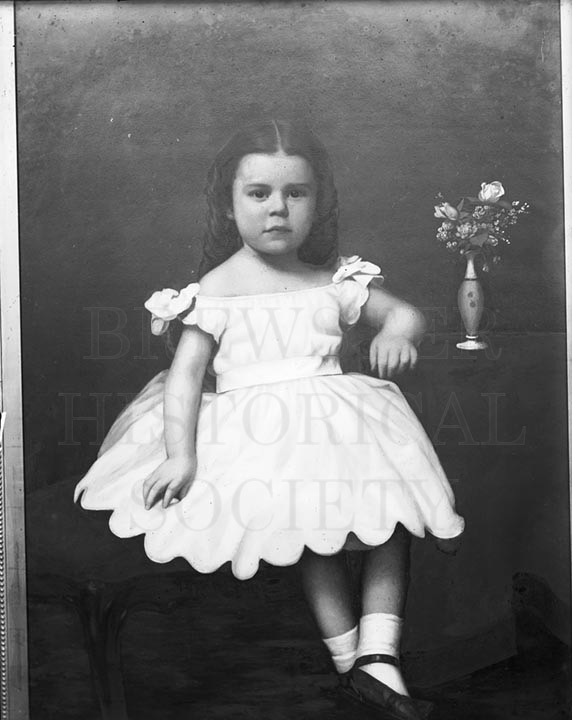44. 1970.10.T625 – Portrait of Aggie c.1900 - photographer Caro A. Dugan