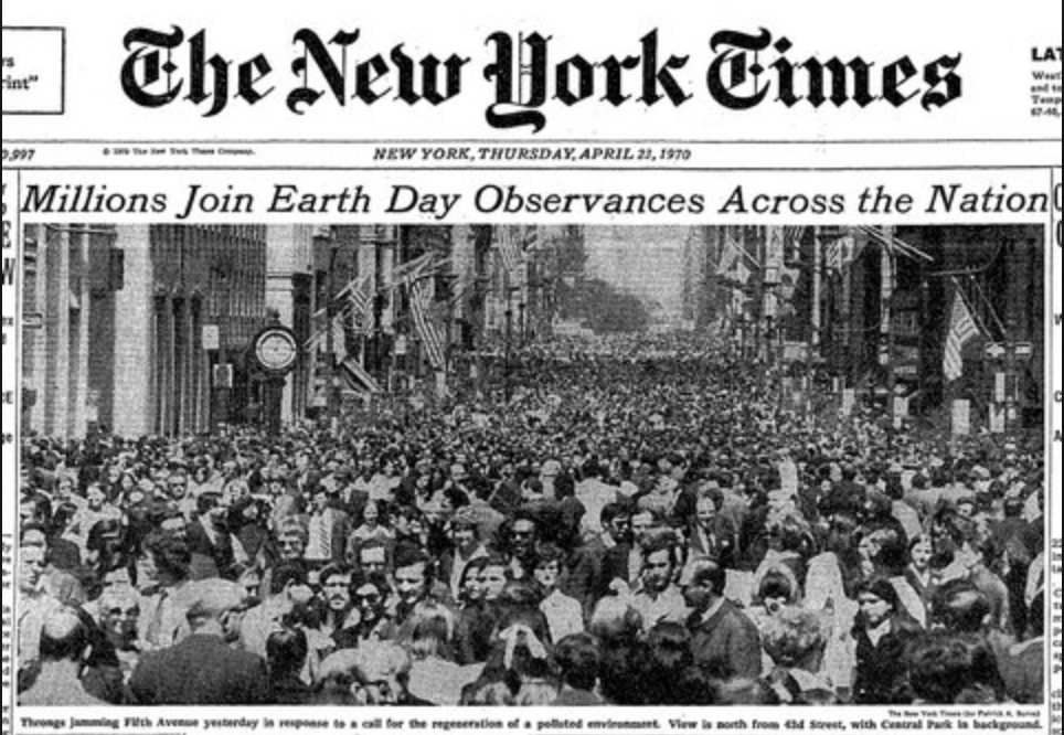 NYT: Earth Day newspaper