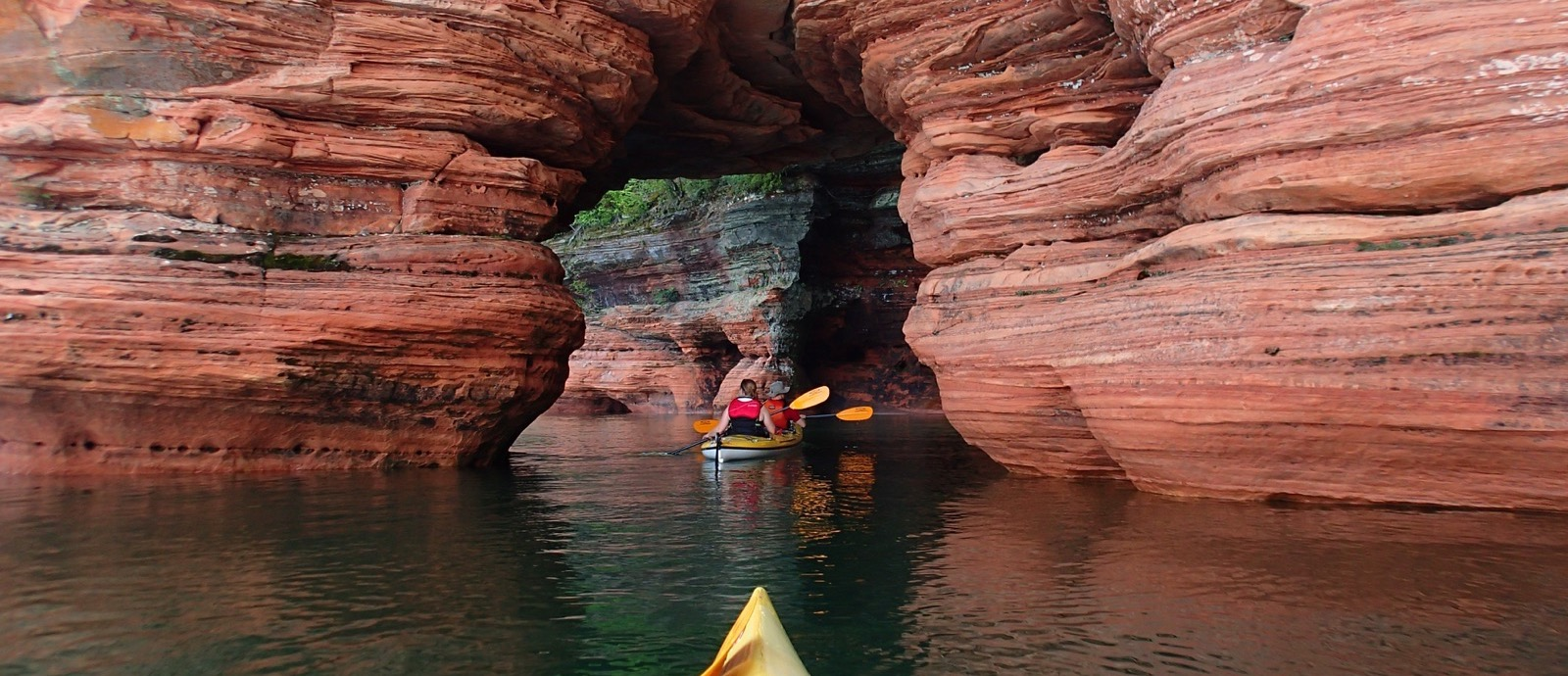 Kayak Trip in the Apostle Islands