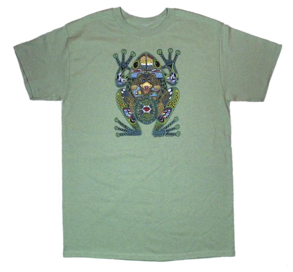Frog Mosaic Tshirt