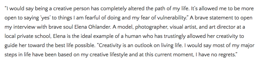 Here is an excerpt from the interview. Read the full interview  here.