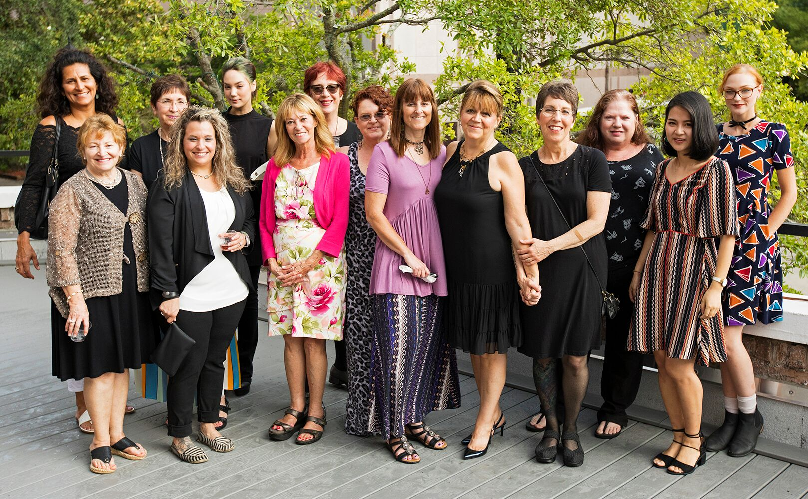 Some of the fantastic members of Fem Art Gallery. Photo Credit: Toni Smailagic