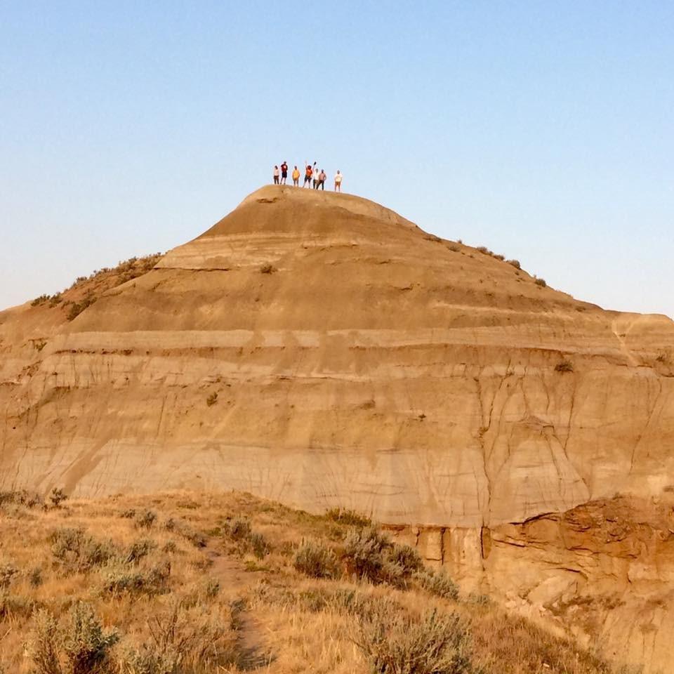 Philosophers, historians and sociologists, on yonder hilltop. Pic: Joyce Havstad