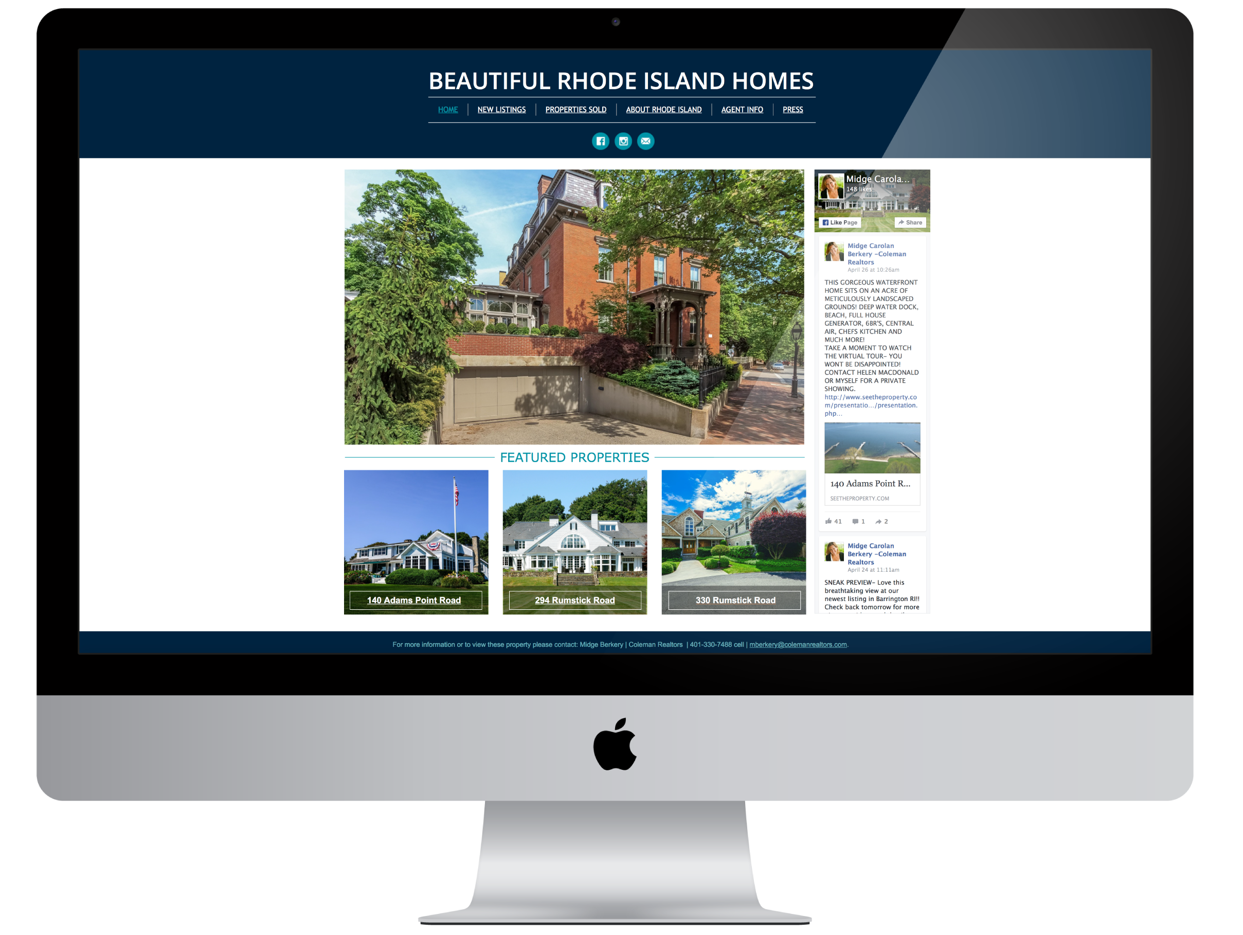 Beautiful Rhode Island Homes