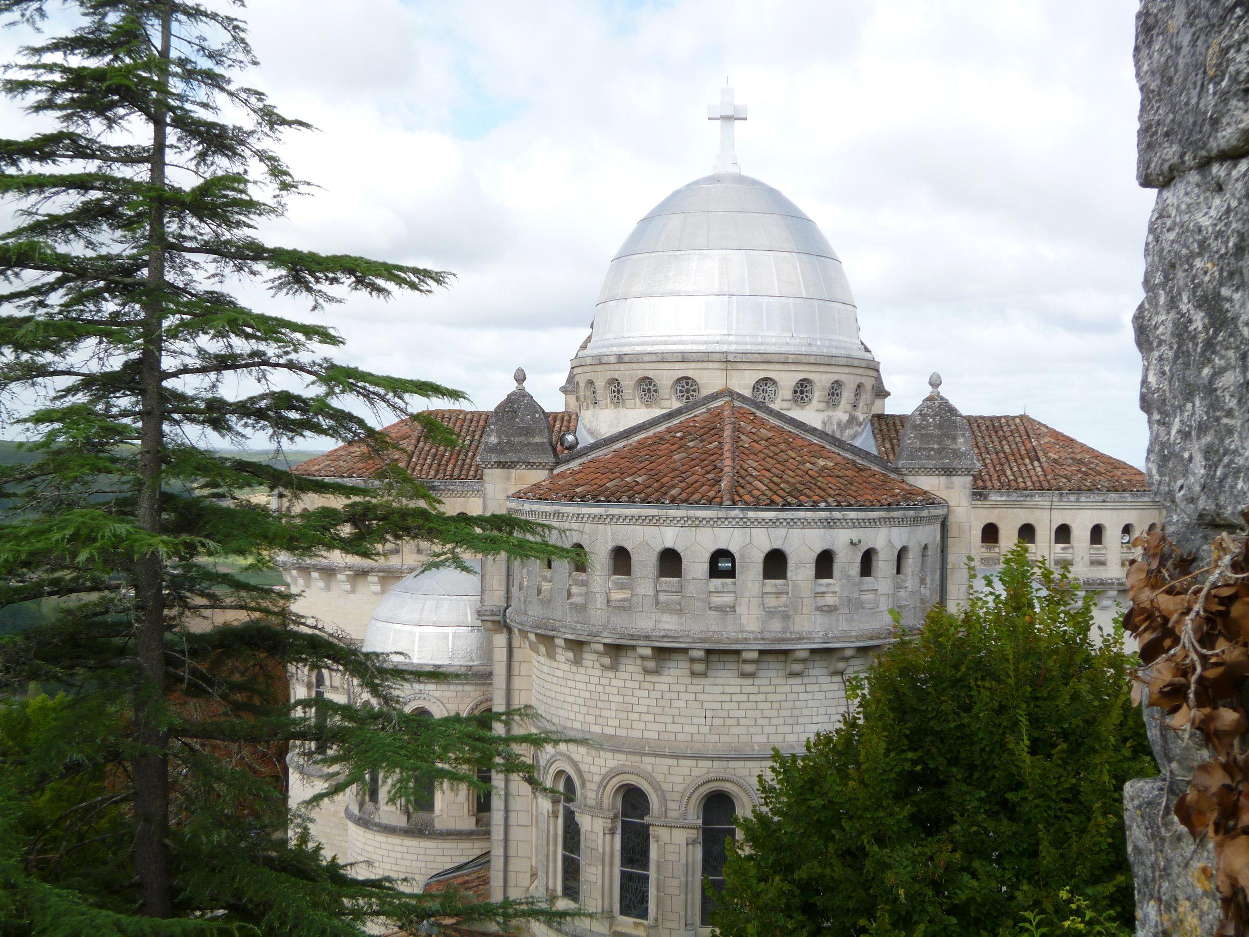 """Notre-Dame de Peyragude Basilica, Penne d""""Agenais"""