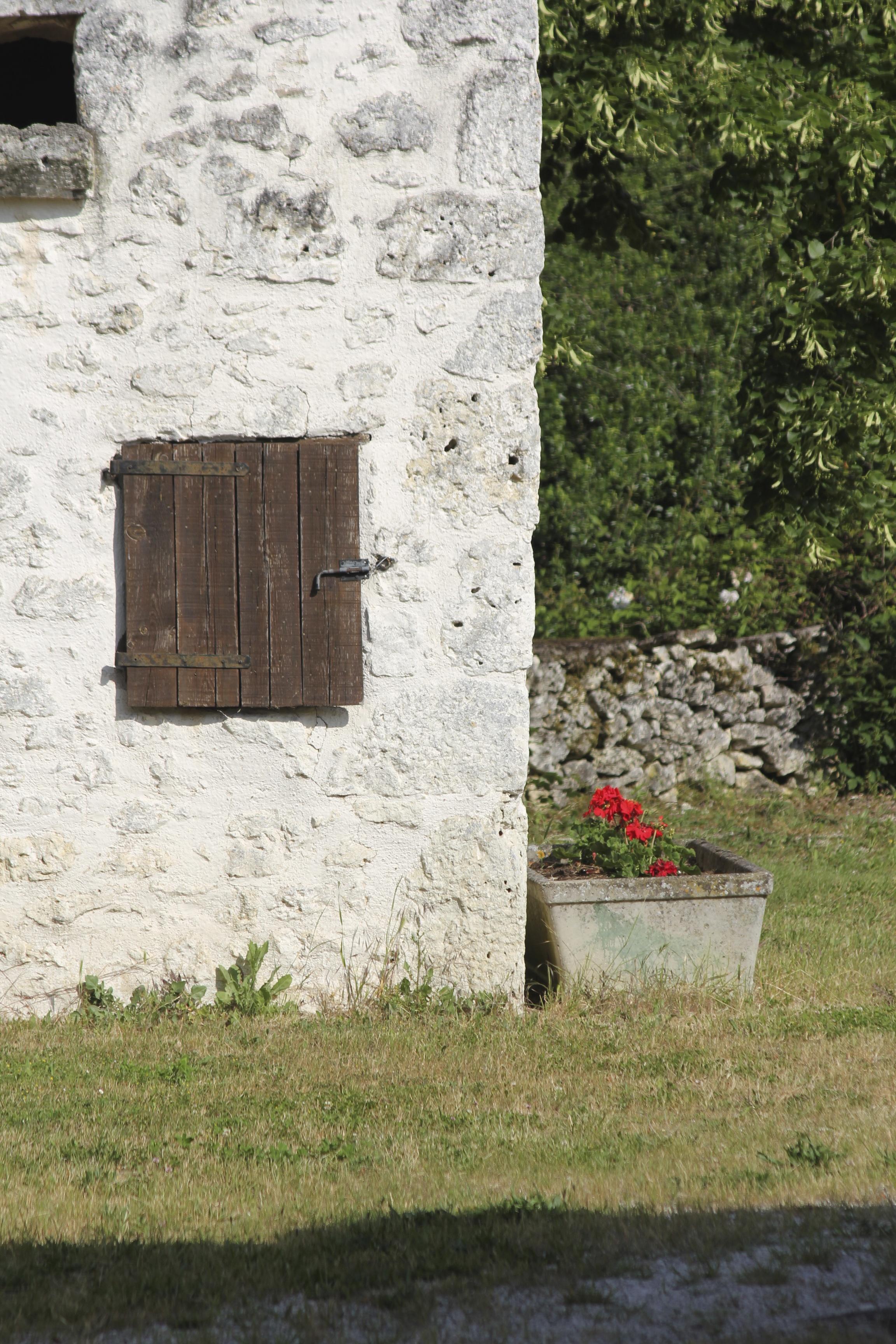 Barn shutters.