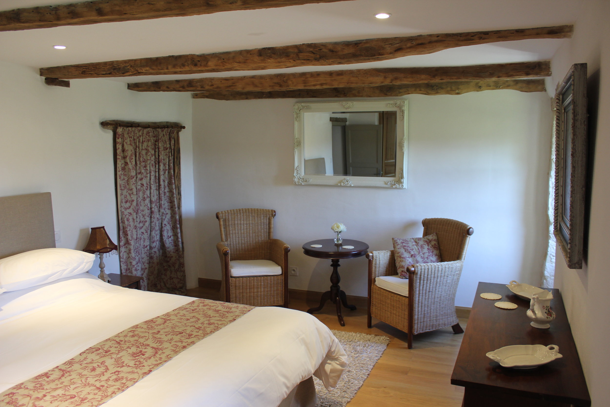 Tournon bedroom. Guests coming to stay…. worth a photo!
