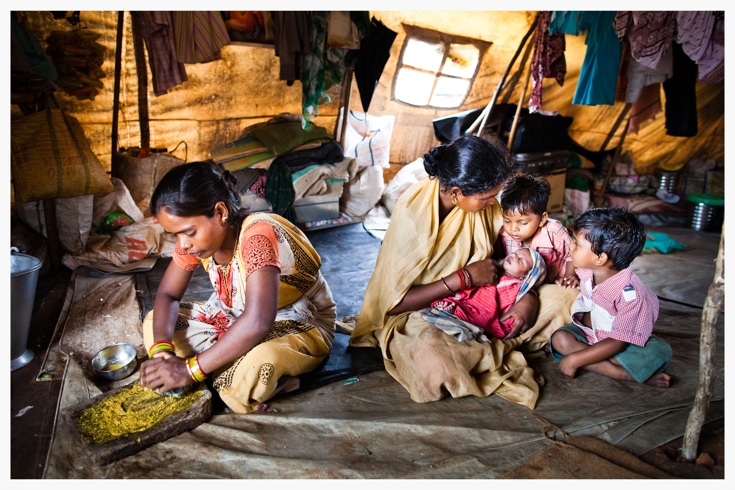 Displaced Indian Dalits, Being Untouchable. Photo: © Marcus Perkins