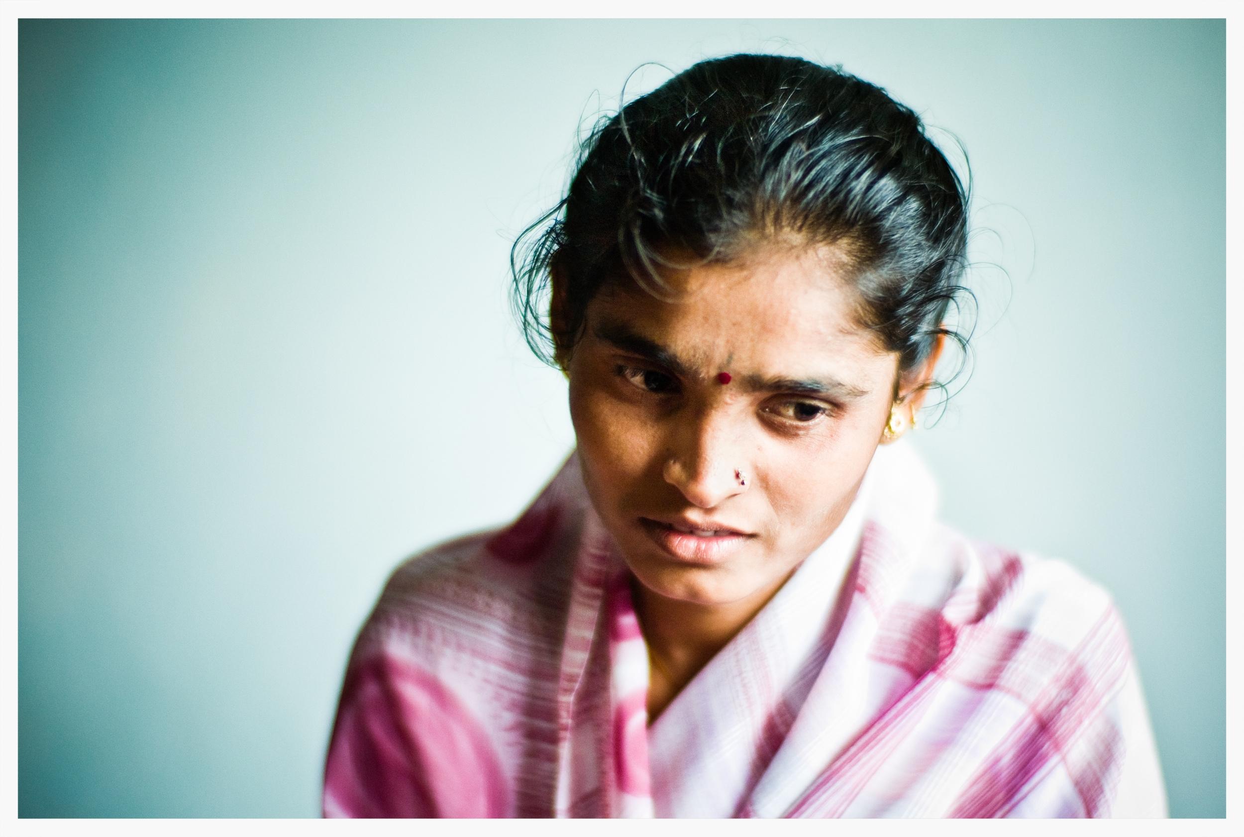 Devadasi, Indian Dalits,Being Untouchable. Photo: © Marcus Perkins