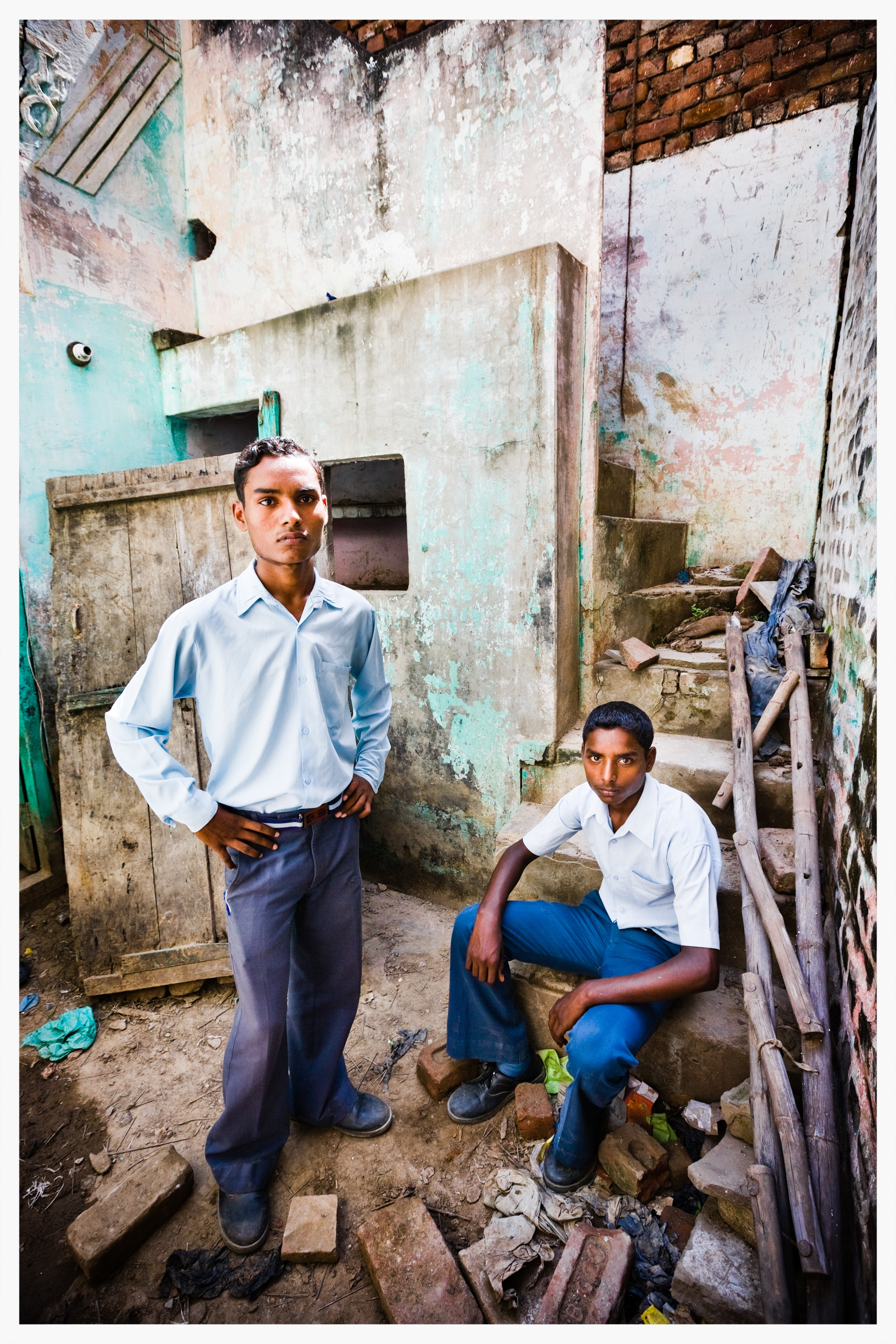 Indian Dalits,Being Untouchable. Photo: © Marcus Perkins