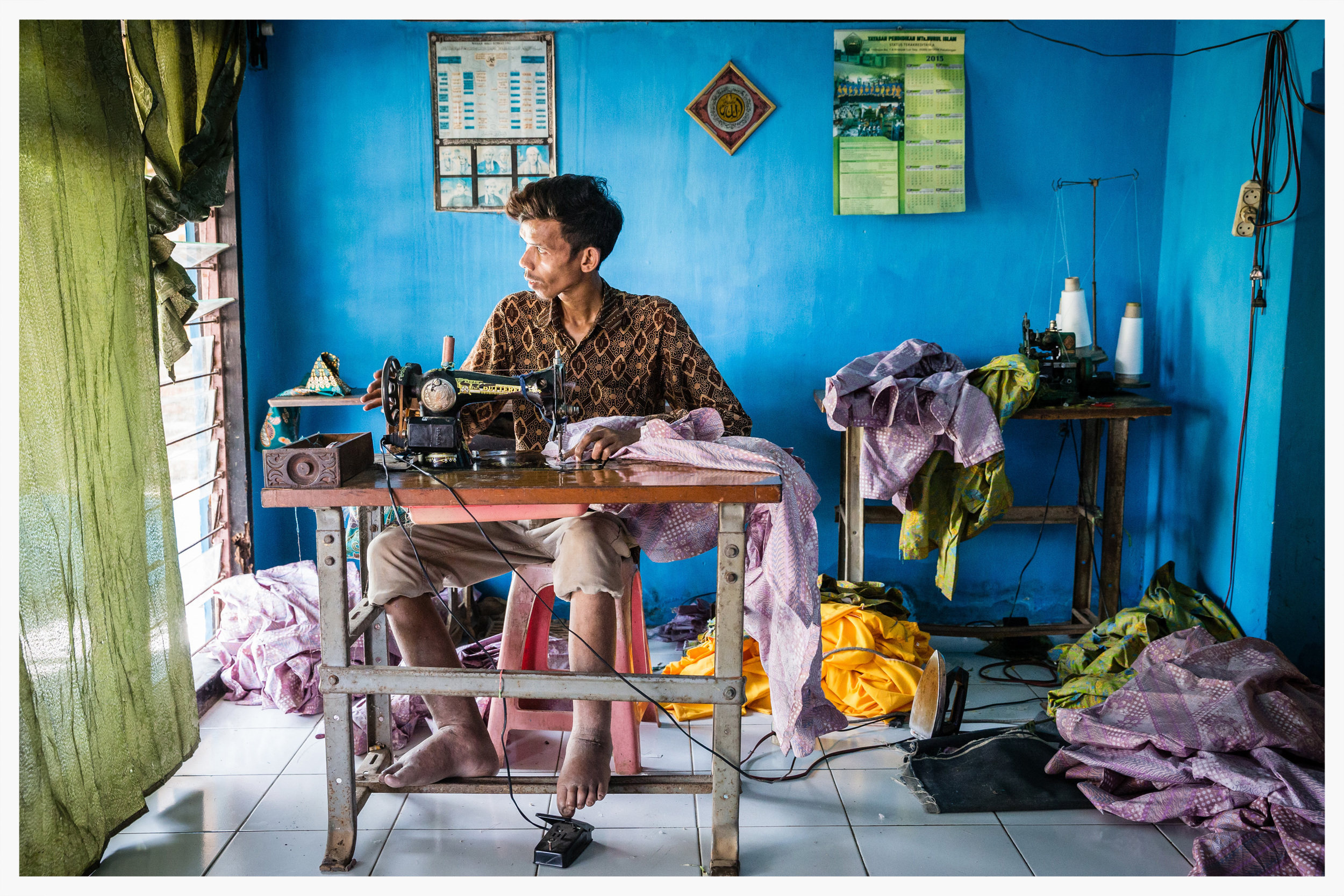 Lymphatic Filariasis, Indonesia. Photo:Marcus Perkins for GSK