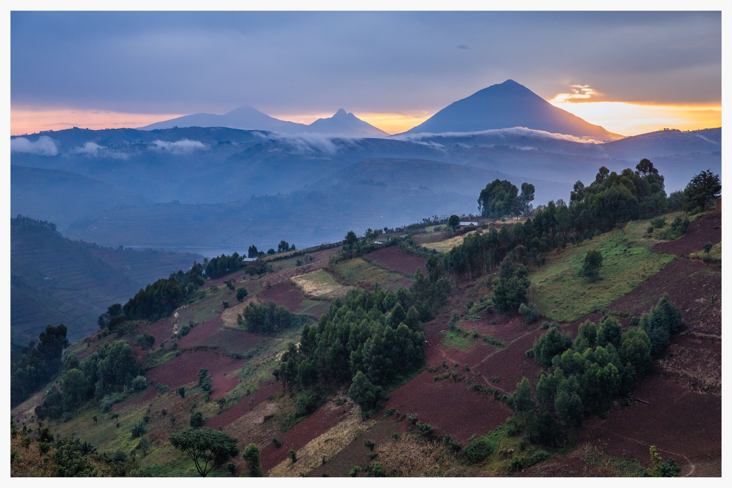 Kigezi  which covers Kabale, Kisoro and Rukungiri Districts in south west Uganda. Photo © Marcus Perkins