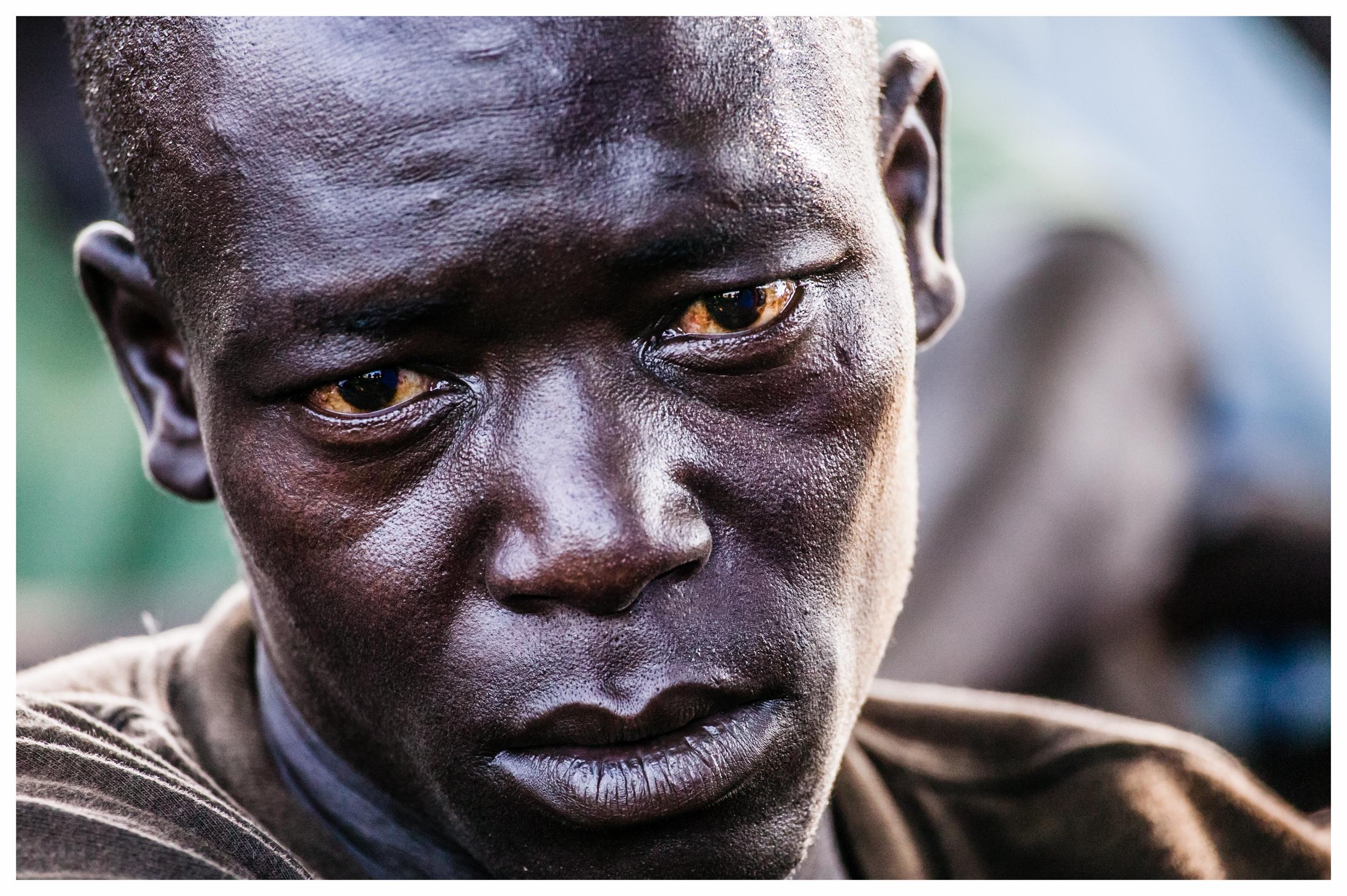 Charles Banya, former LRA rebel. Photo © Marcus Perkins