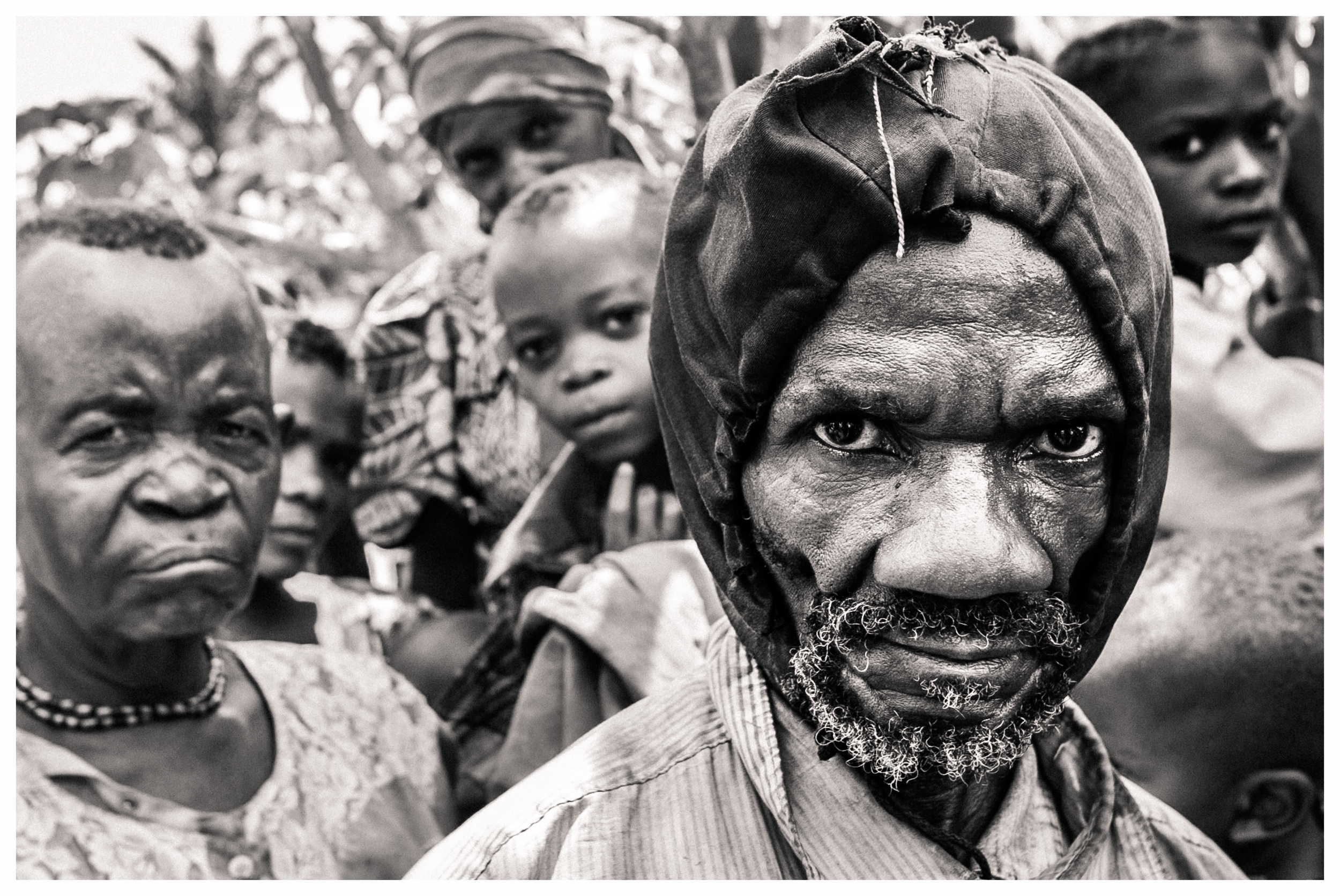 A pygmy elder in Eringeti, north east Congo. Photo © Marcus Perkins