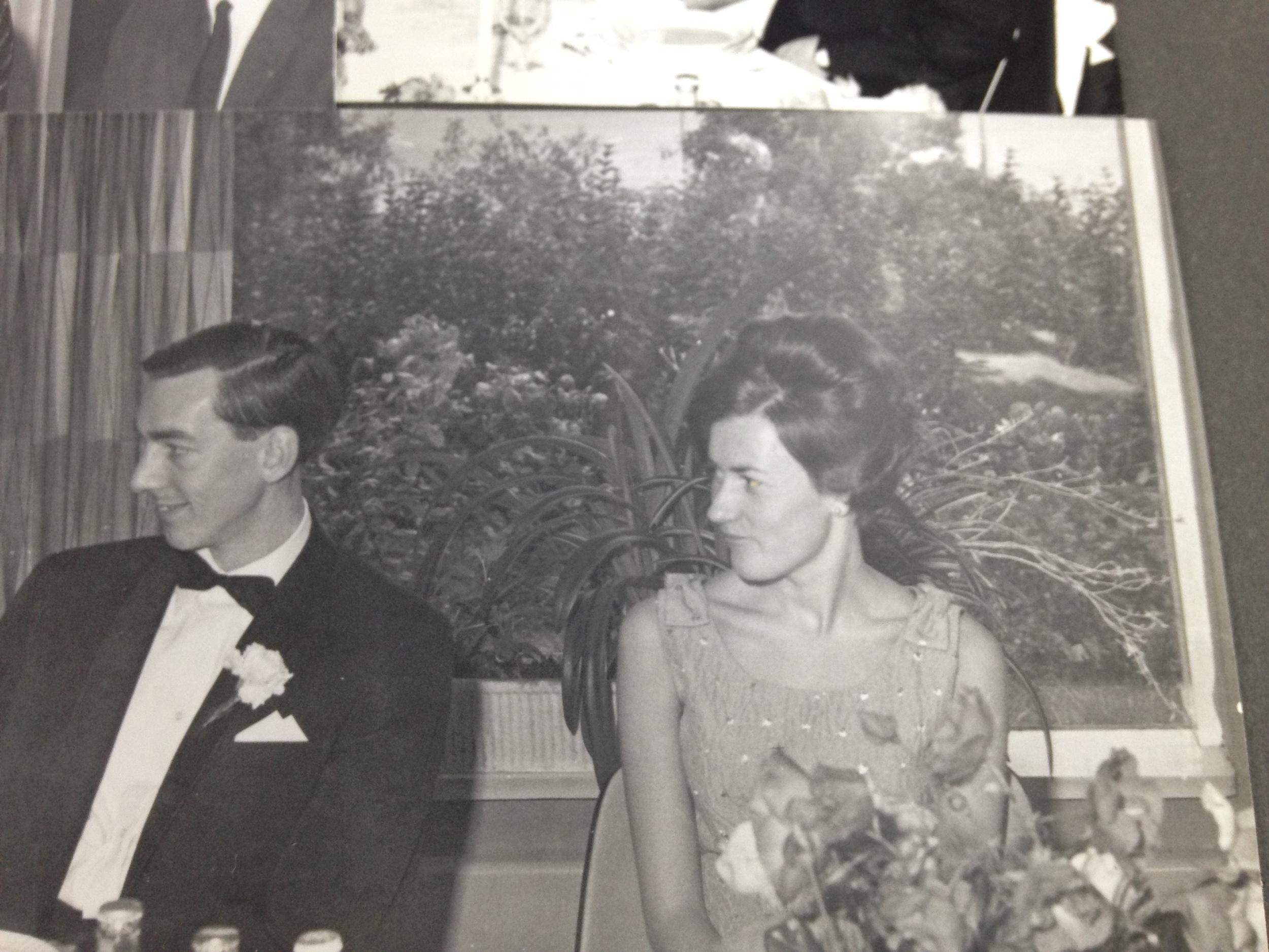 My grandparents at a wedding.