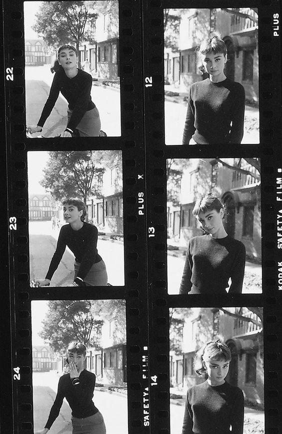 Audrey Hepburn. Unknown source.