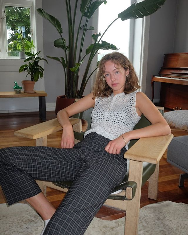Skogfiol pants: These vintage striped pants proves just how much your choice of pants will matter to your outfit. You decide if you want to look like you're in a rockband from the 90's or a nerd from Clueless. No matter what direction you want to go, these pants will not fail you.