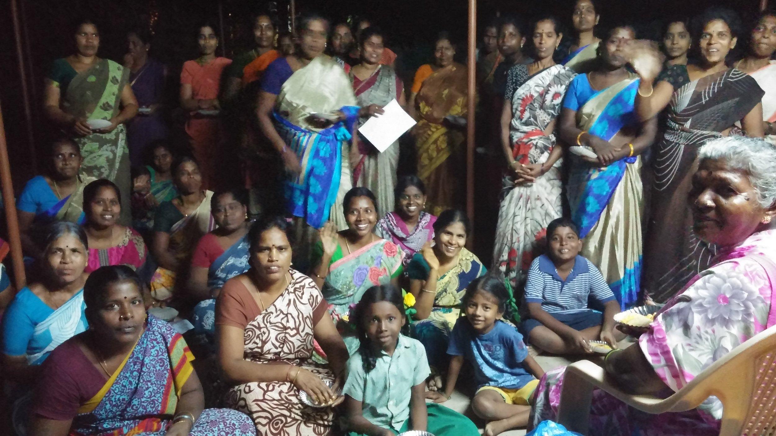 Women of Kuyliapalium, outside of Auroville, Pondicherry, India.