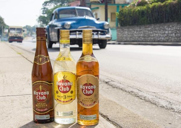 Three varieties of Havana Club Rum ©yelo34/123RF.COM