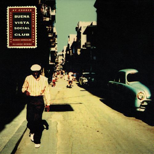 The iconic  Buena Vista Social Club  album cover (1997)