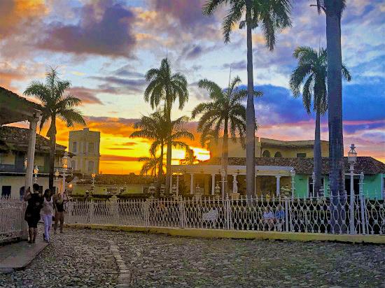 Painted skies over Trinidad, Cuba.