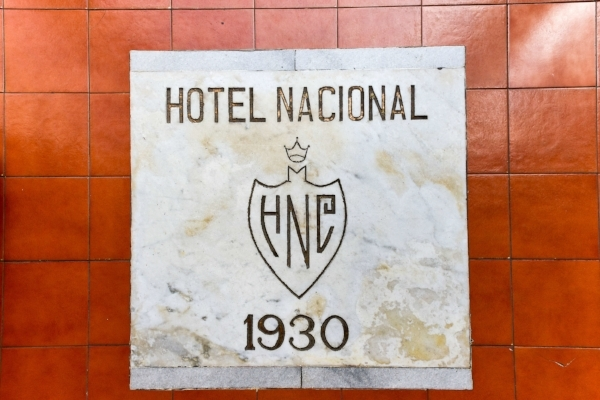 Original logo for the Hotel Nacional