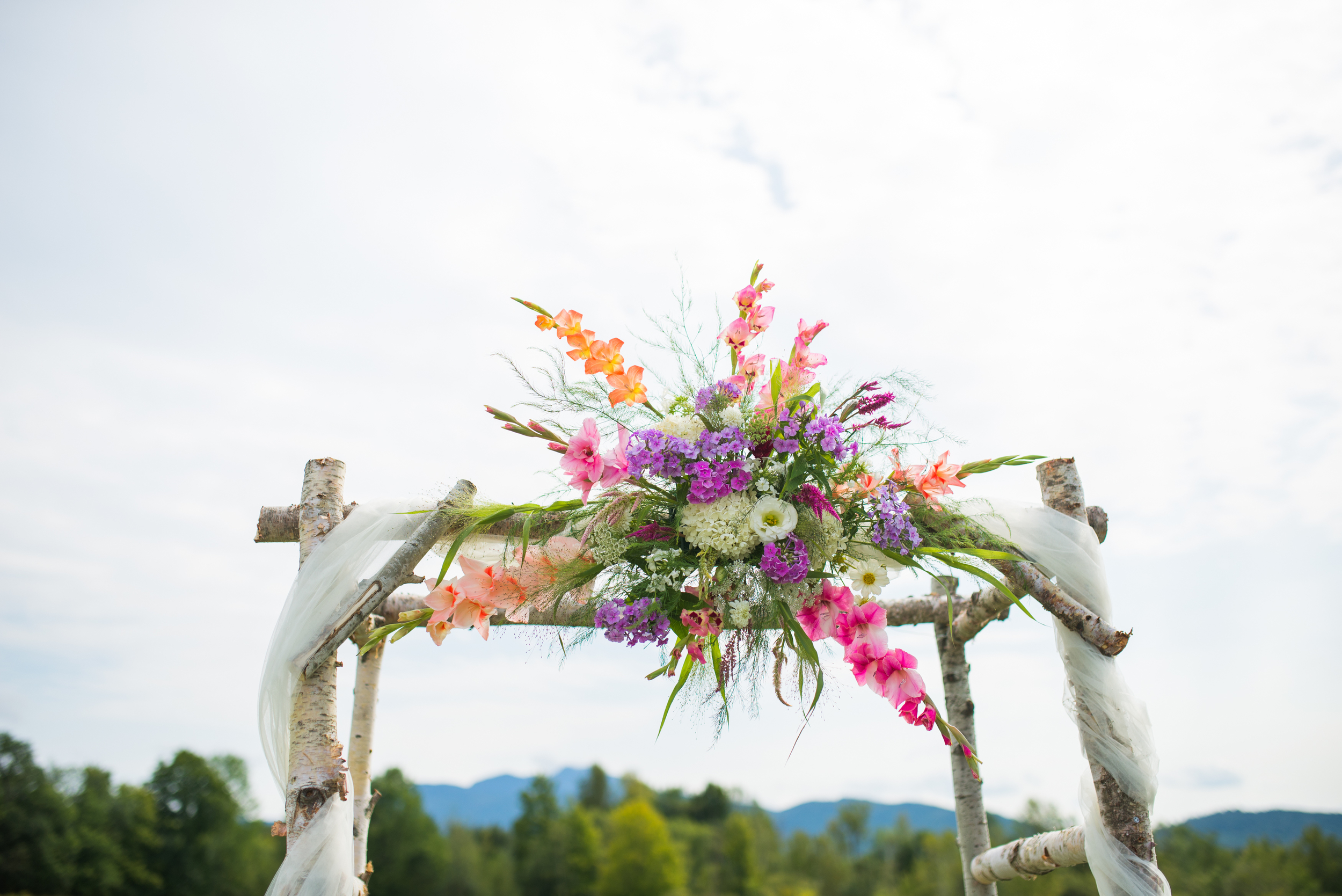 The beauty of your wedding will be unique from start to finish