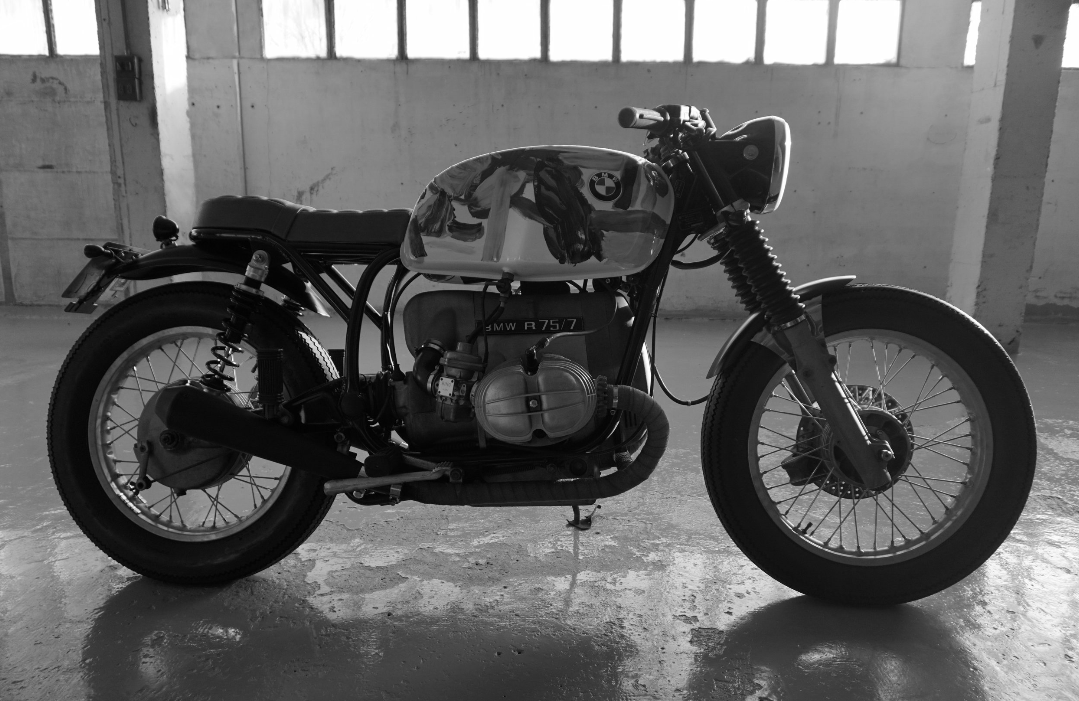 CRSS #LYCHEE II - BMW R75  NOT FOR SALE