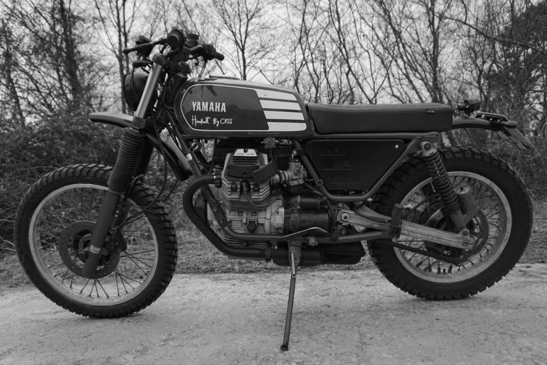 CRSS #12: MOTO GUZZI V 65 TT  SOLD