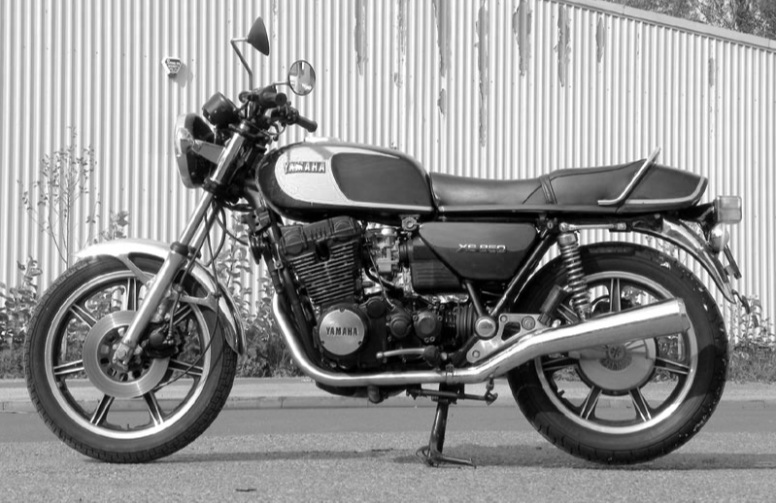 CRSS #55: YAMAHA XS 850  SOLD - UNDER CONSTRUCTION