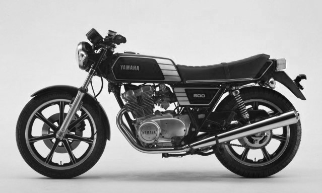 CRSS #35: YAMAHA XS 500  SOLD - UNDER CONSTRUCTION