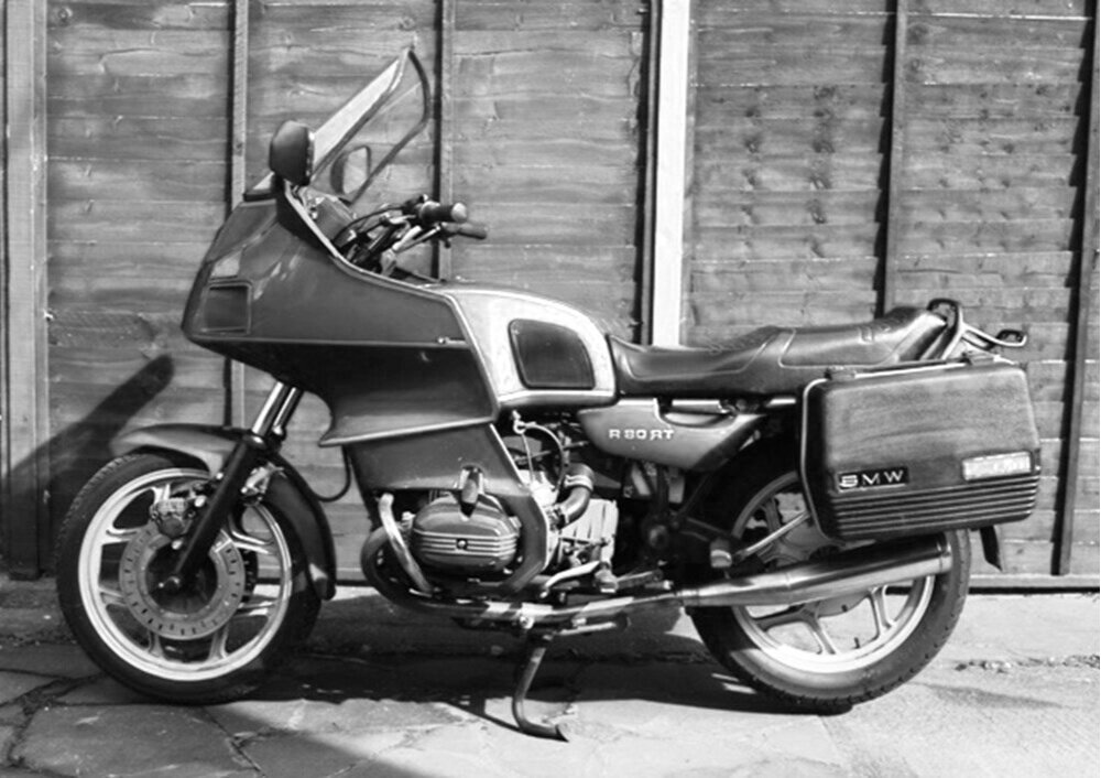 CRSS #73: BMW R80 RT  SOLD - UNDER CONSTRUCTION
