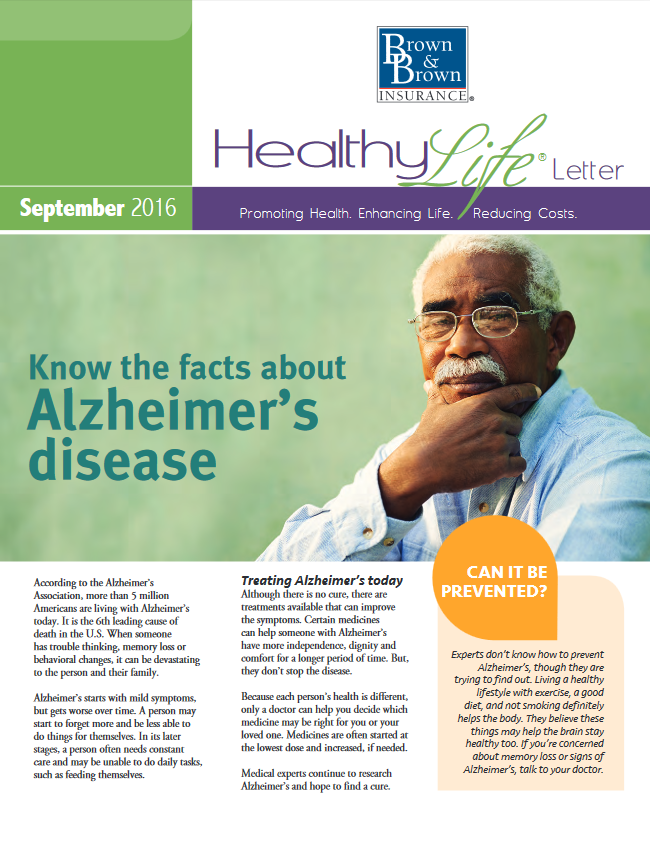 September Wellness Insurance Employee Benefits Newsletter
