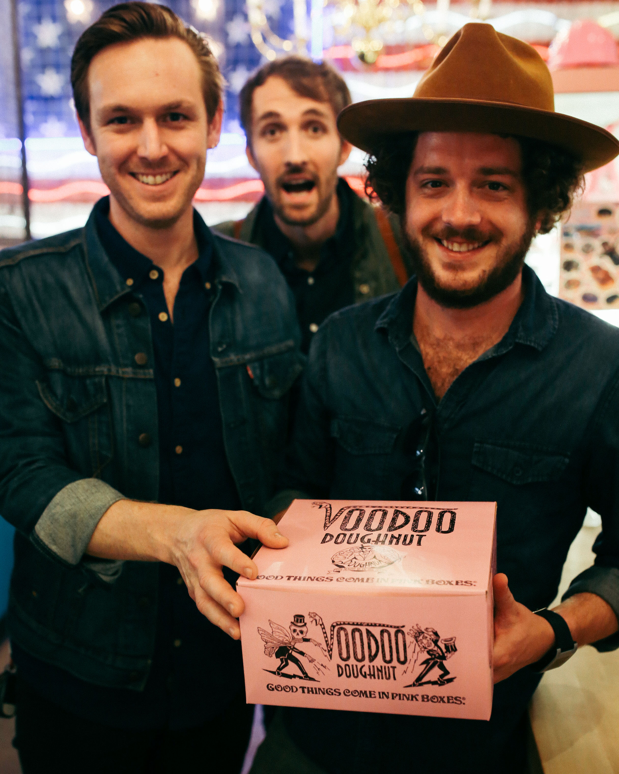 New voodoo donuts on 6th street? Yes please! This was after we just ate Czech stop.