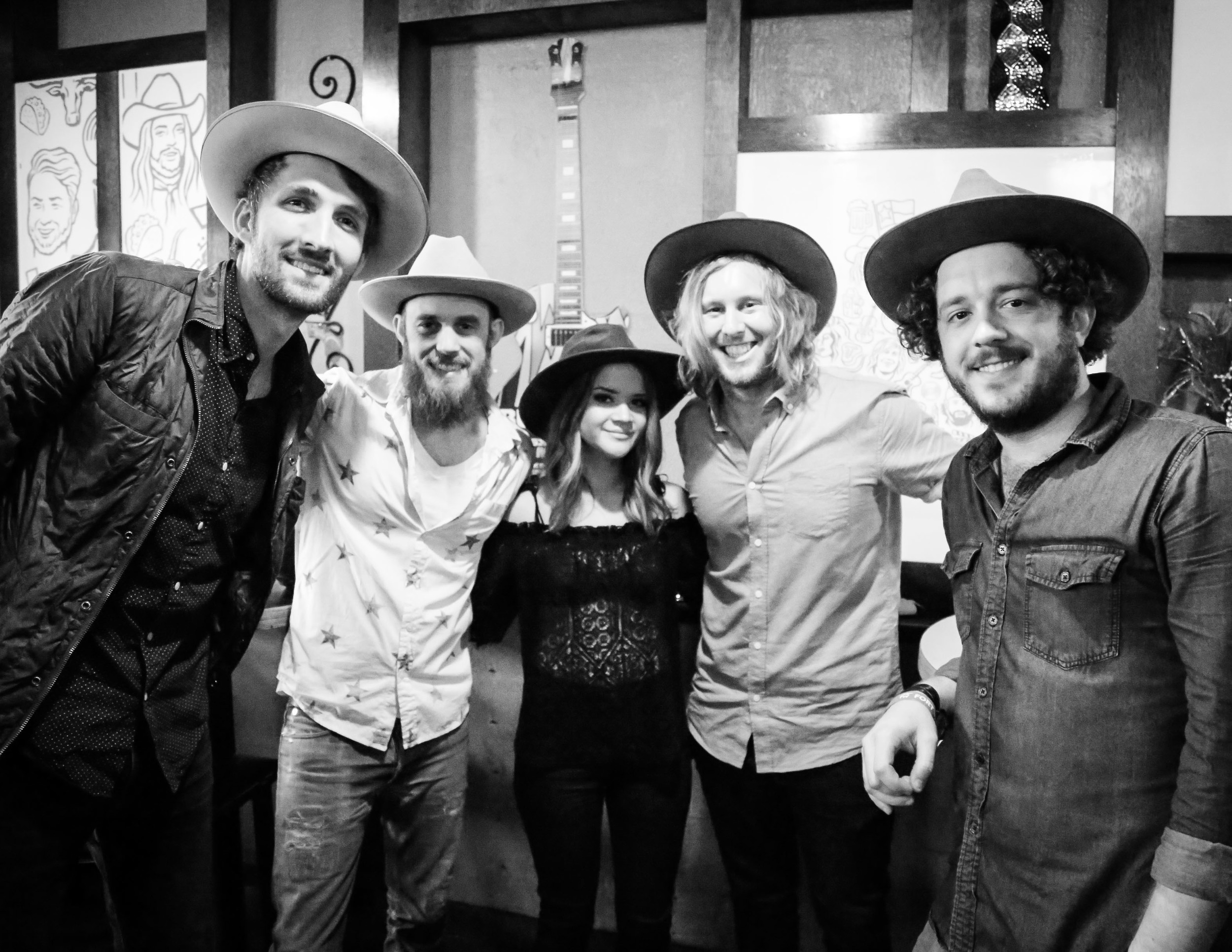 Fellow Fort Worthian & country star Maren Morris at the Hear Fort Worth Showcase. Maren is now on the road with Keith Urban!