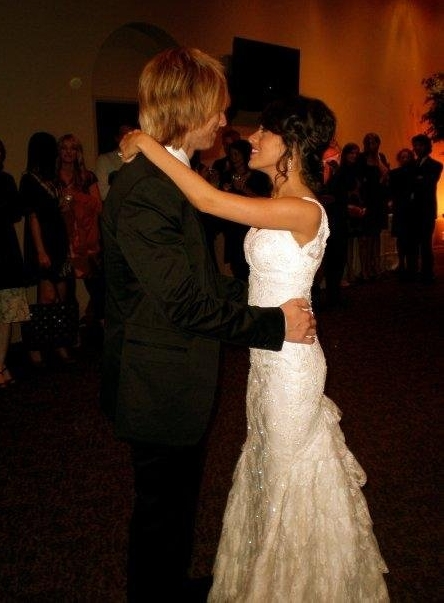 """January 2008 - Our first dance to """"Heavenly Day"""" by Patty Griffin"""