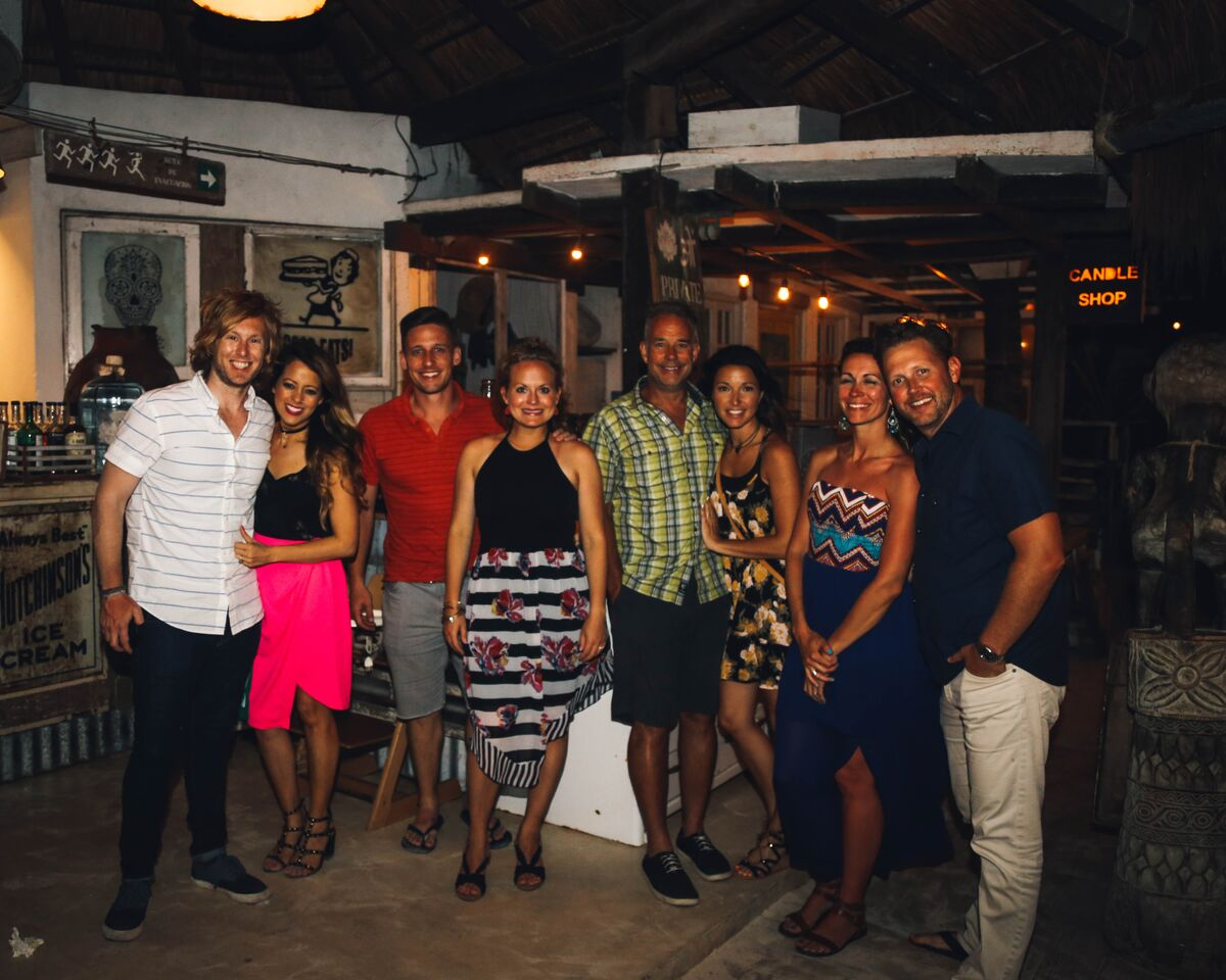 Posada Margherita with the gang!