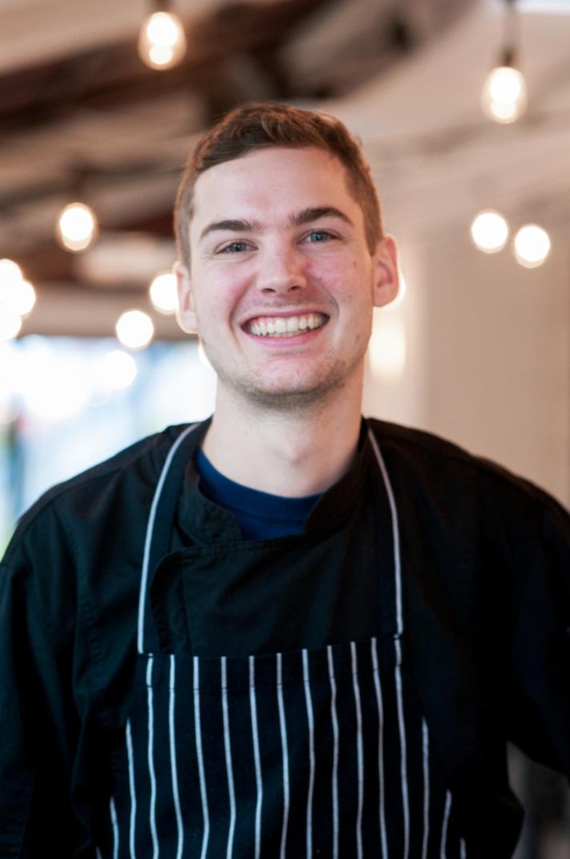 Jason Harwood, Lead Line Cook  Image ©2017  Rachel Valley
