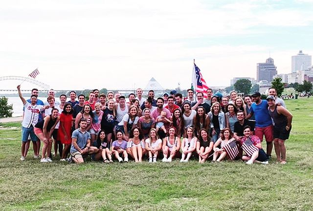 God bless the USA and all of our friends that came to celebrate with us tonight! 🇺🇸🎆🎉