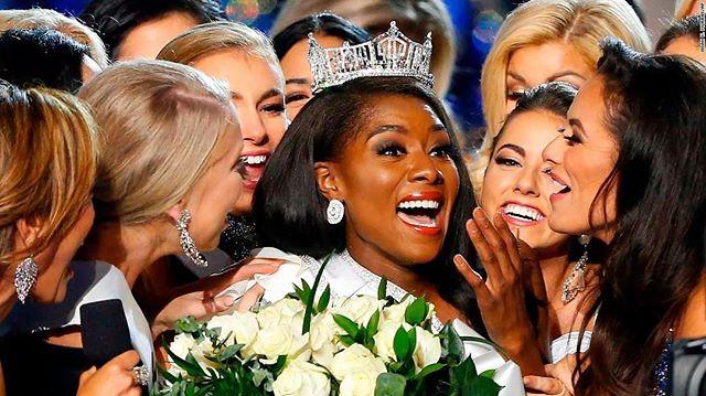 Hellooooo Ms. America 2019!!! Ms. Nia Franklin reppin NY 👑👏🏾🙌🏾 #msamerica #msamerica2019 #blackgirlmagic #niafranklin