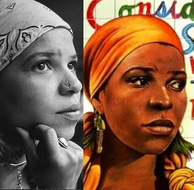 """""""I write for young girls of color, for girls who don't even exist yet, so that there is something there for them when they arrive. I can only change how they live, not how they think."""" -Ntozake Shange  #restinpower #thankyou #authoress #poet #forcoloredgirls #wellreadblackgirl"""