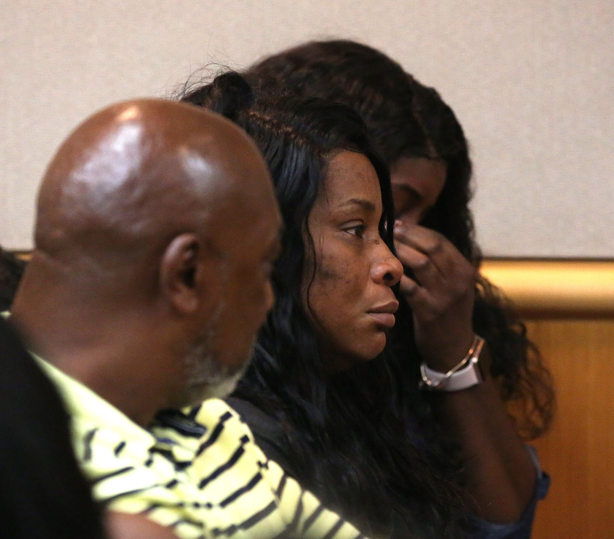 Mother of Markeis McGlockton hearing guilty verdict.  Photo credit: Tamp Bay Times