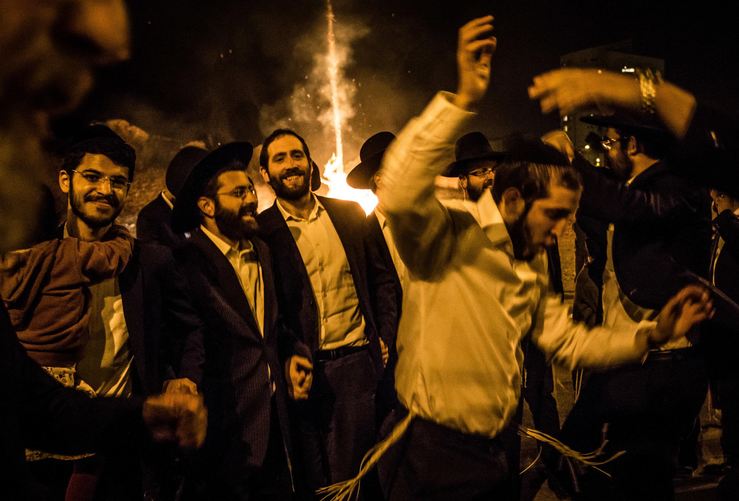Lag Ba'omer celebrations, Jerusalem. May 2016.